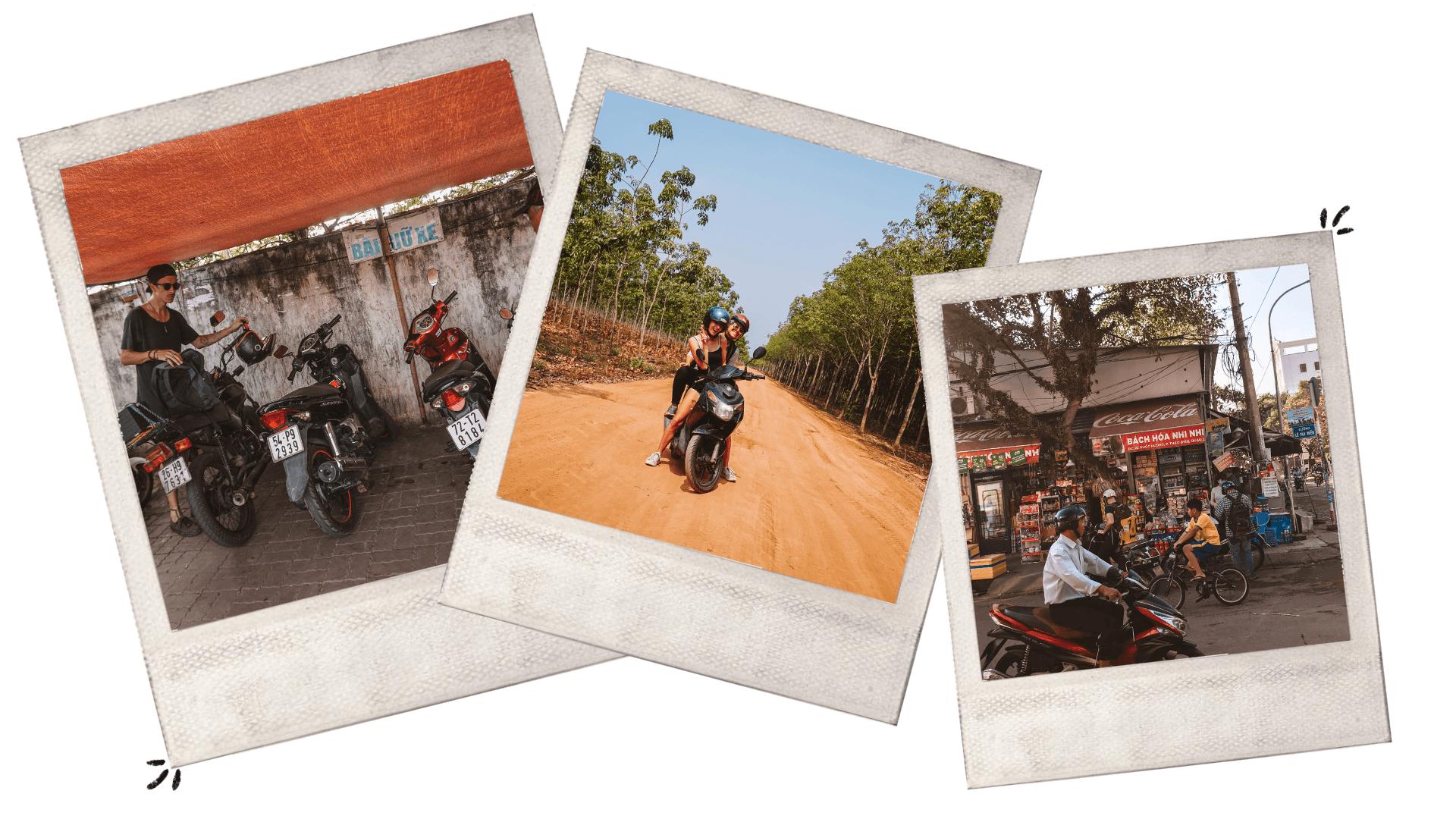 learning to motorbike in Vietnam Saigon HCMC motorbiking lessons