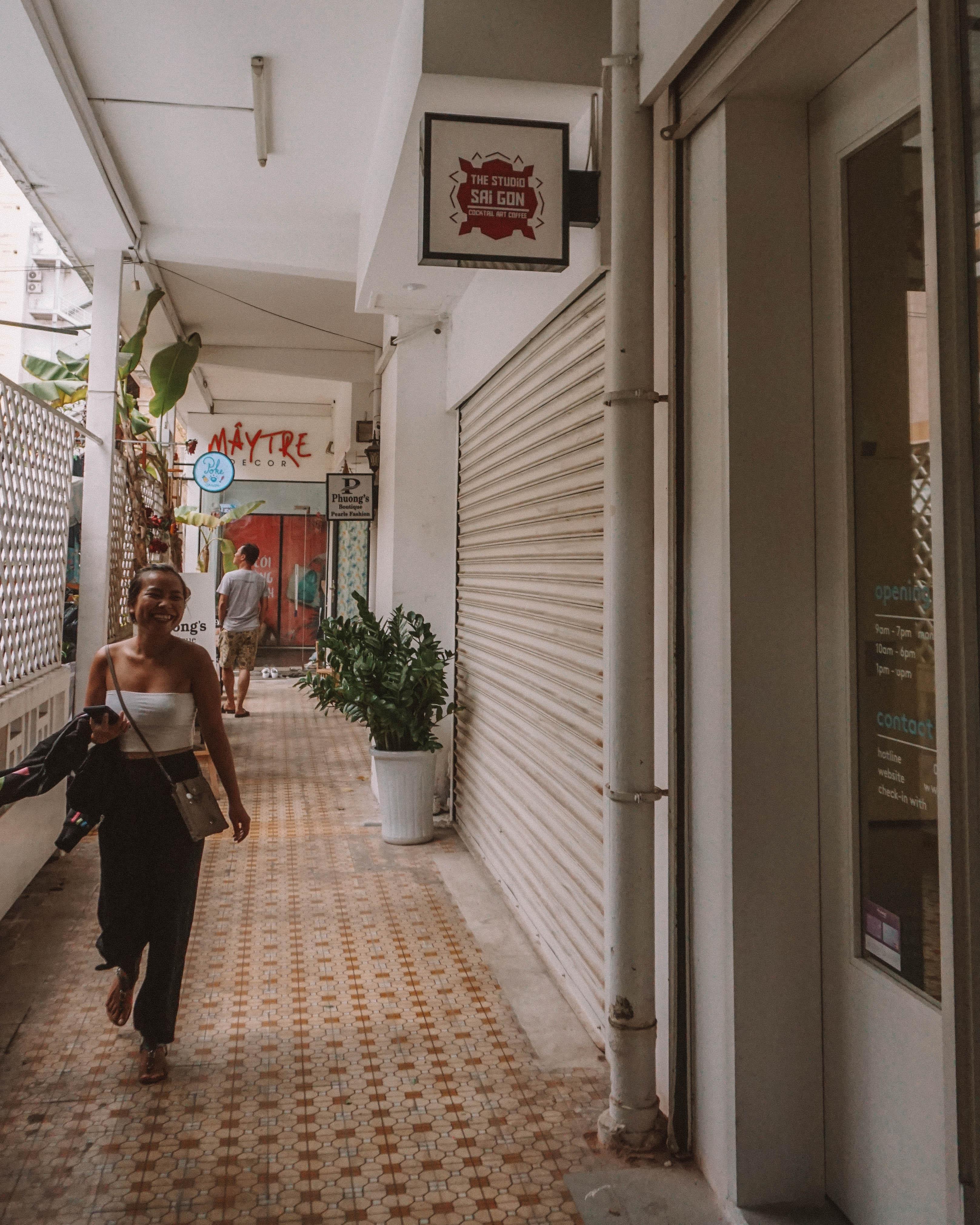 exploring the Ho Chi Minh city apartment malls Vietnam Saigon poke saigon