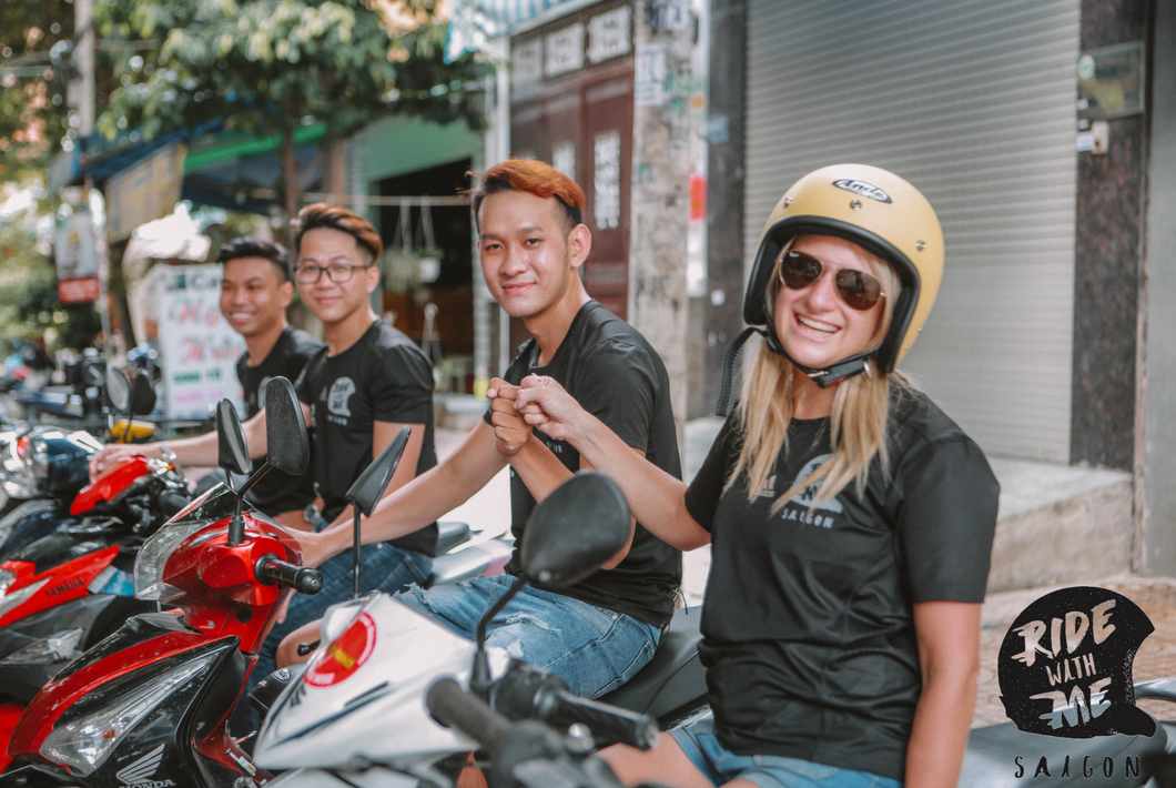 ride with me Saigon motorbike lessons vietnam ho chi minh city school riding