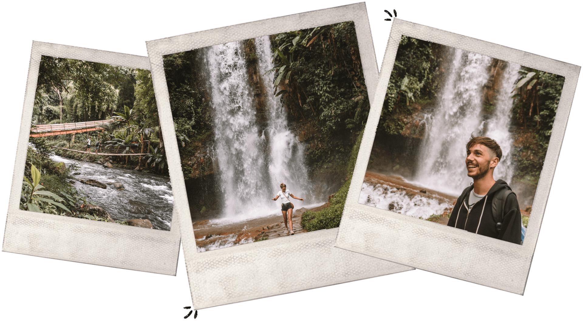 visiting dambri waterfall bao loc vietnam