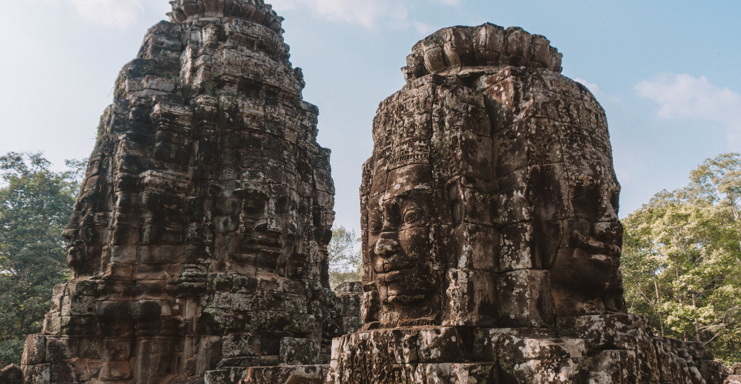 bayon temple cambodia siem reap photo journal Angkor wat