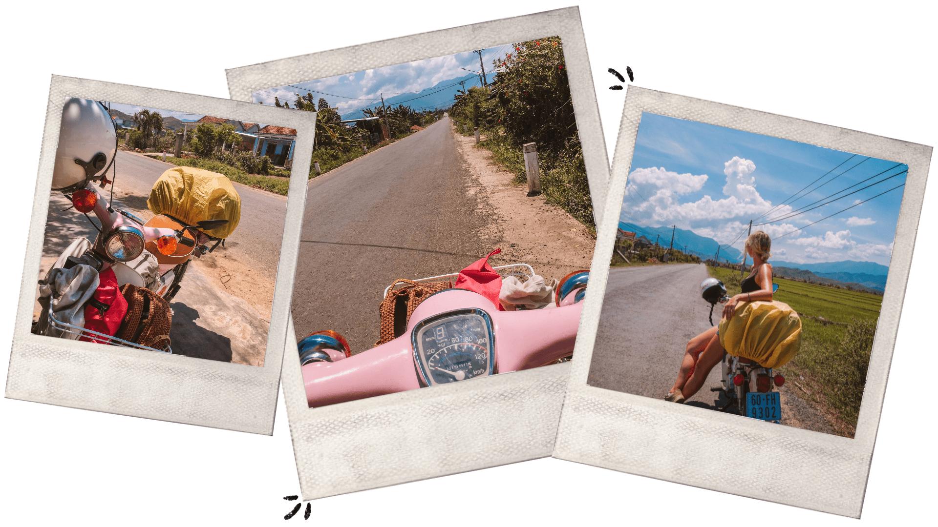 buying a vintage honda cub road trip Vietnam