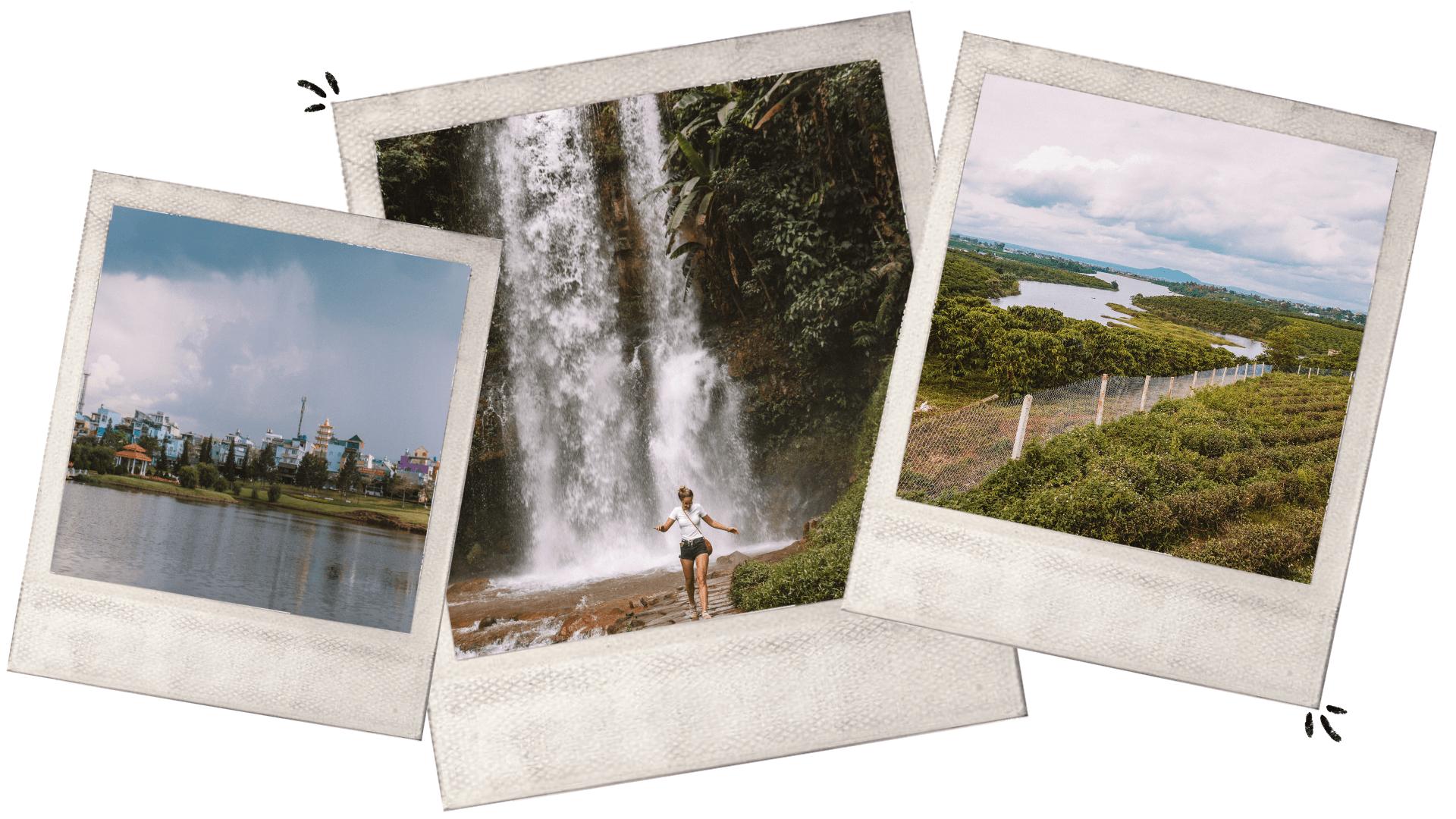 travel guide to Bao Loc dambri waterfall Vietnam