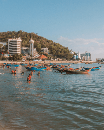 Vung Tau travel guide vietnam weekend trip nearest beach to Saigon