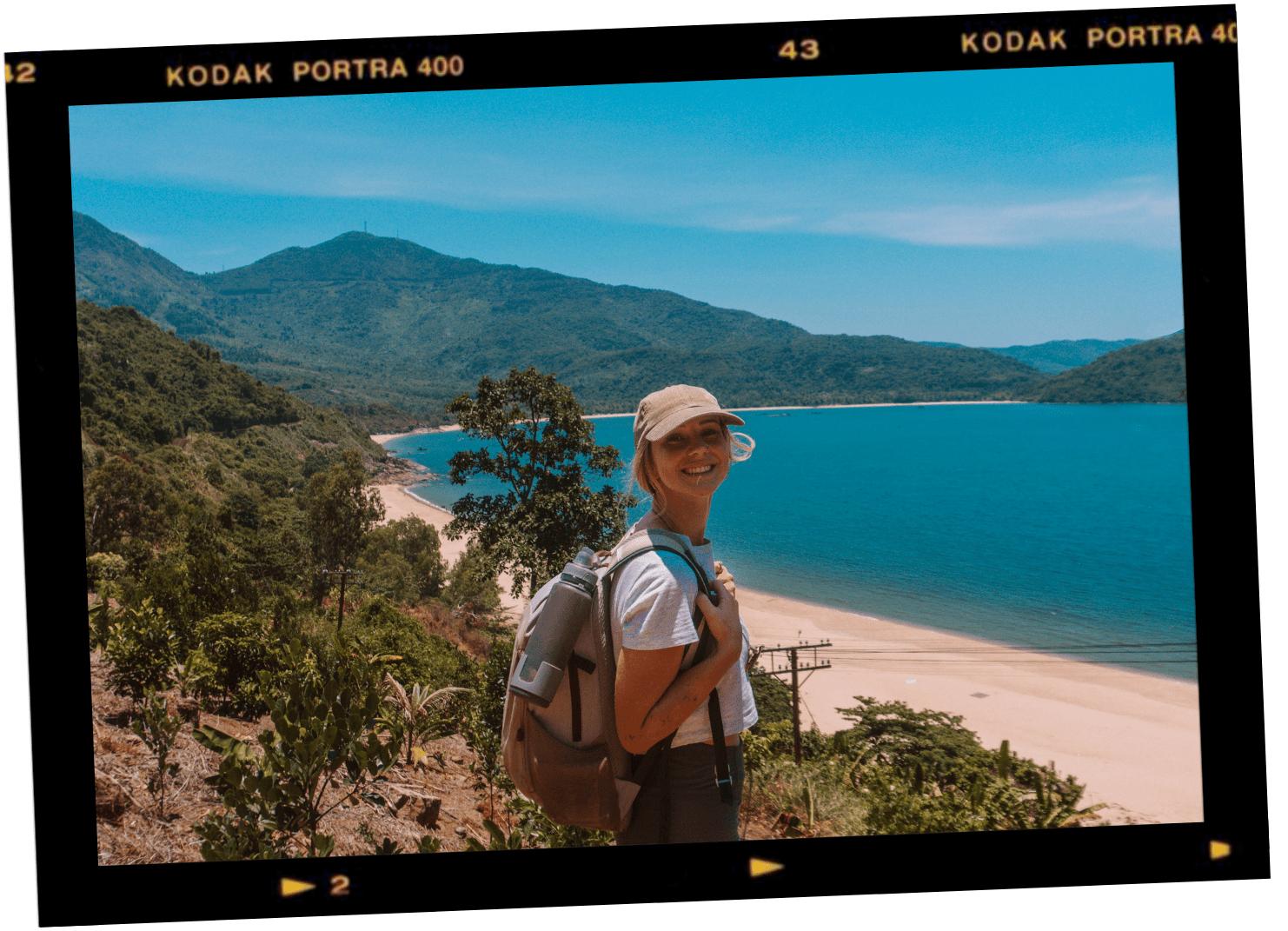 motorbiking the hai van pass da nang secret beach viewpoint